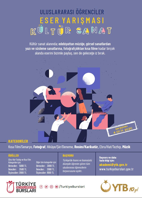 Uluslararası Öğrenciler Eser Yarışması: Kültür Sanat