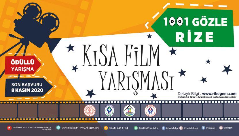 1001 Gözle Rize Kısa Film Yarışması