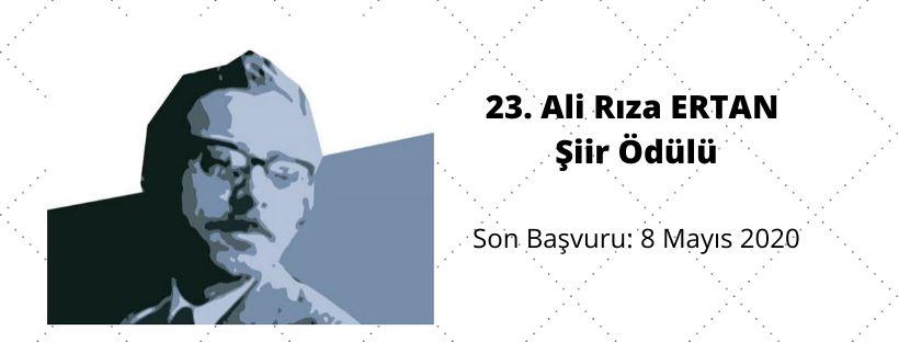 23. Ali Rıza Ertan Şiir Yarışması