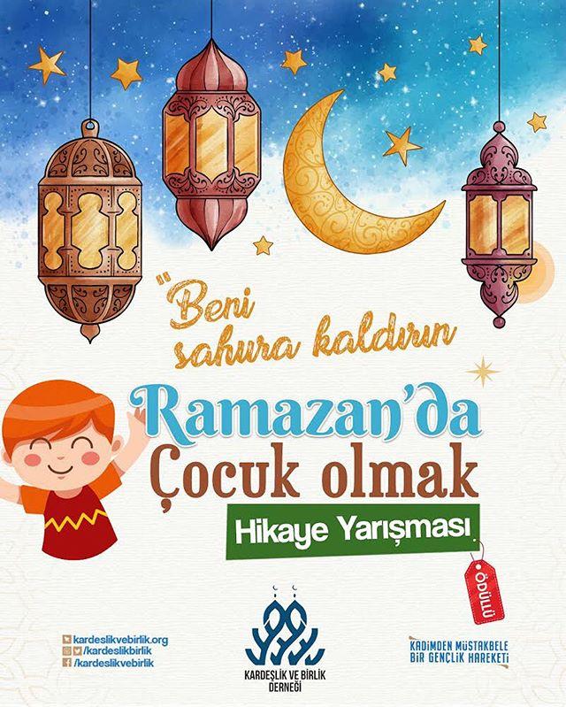 Ramazan'da Çocuk Olmak Hikaye Yarışması
