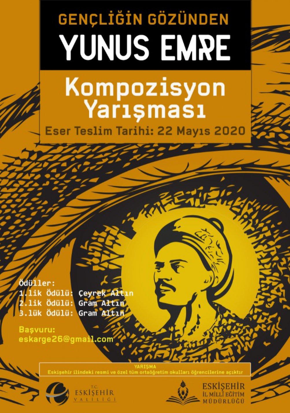 Gençliğin Gözünden Yunus Emre Kompozisyon Yarışması