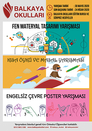 Özel Balkaya Anadolu Lisesi Kısa Öykü Yarışması