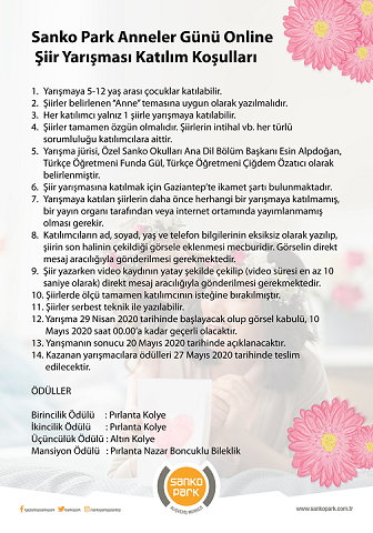 Anneler Günü Online Şiir Yarışması