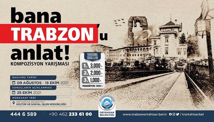 Bana Trabzon'u Anlat Kompozisyon Yarışması