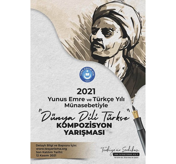 Yunus Emre Dünya Dili Türkçe Kompozisyon Yarışması