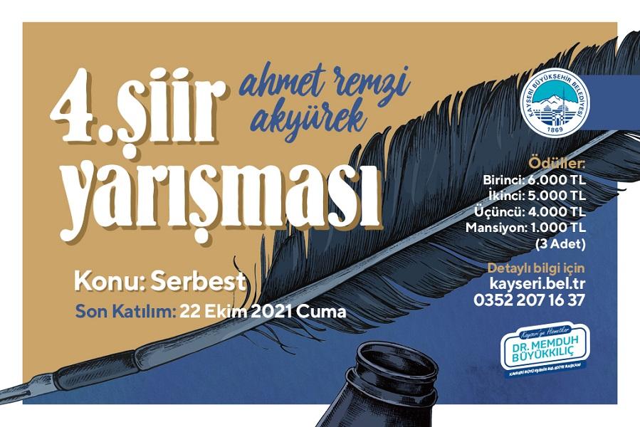 4. Ahmet Remzi Akyürek Şiir Yarışması