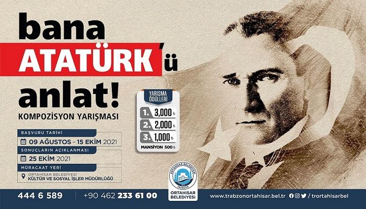 Bana Mustafa Kemal Atatürk'ü Anlat Kompozisyon Yarışması