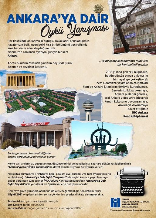 Ankara'ya Dair Öykü Yarışması