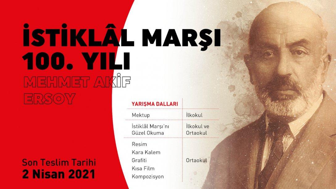 İstiklal Marşının Kabulünün 100. Yılı Yarışmaları