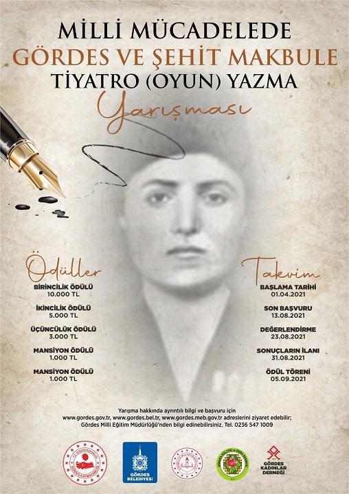 Şehit Makbule Tiyatro Oyunu Yazma Yarışması