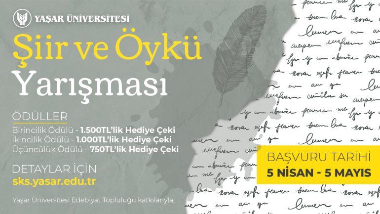 Yaşar Üniversitesi Şiir ve Öykü Yarışması